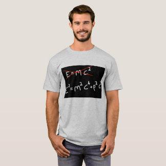 Camiseta e2=m2c4+p2c2