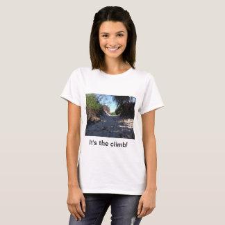Camiseta É a escalada