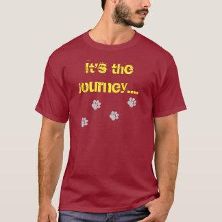 Camiseta É a viagem… não o destino