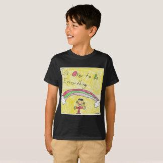 Camiseta É aprovado ser tudo t-shirt para miúdos