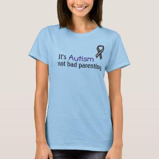 Camiseta É autismo, parentalidade nao má