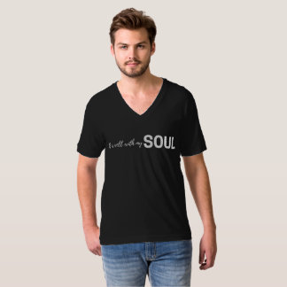Camiseta É bem com minha alma