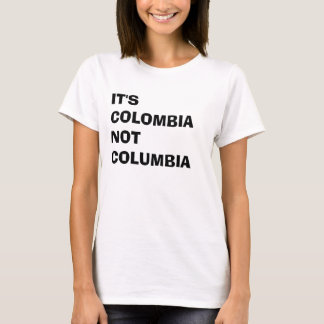 Camiseta É Colômbia