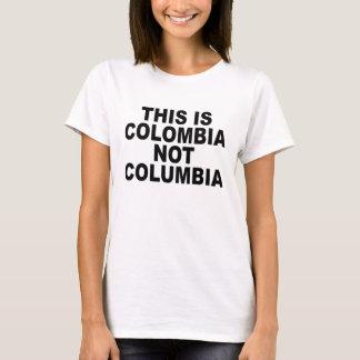 Camiseta É COLÔMBIA NÃO T-Shirt.png cabido COLÔMBIA