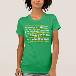 Camiseta e este é meu sócio… T do apelido do GUS