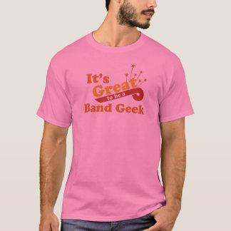 Camiseta É grande ser um geek da banda