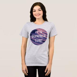Camiseta É horas de verão