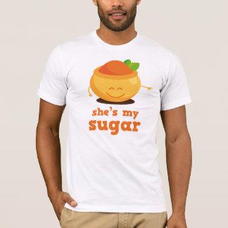 Camiseta É meu presente dos casais do açúcar