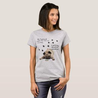 Camiseta é mim ou a parte superior do pug…