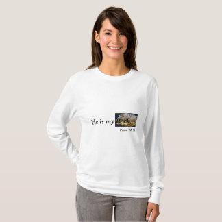 Camiseta É minha rocha, t-shirt da foto da rocha do