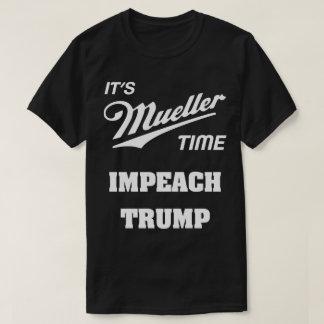 Camiseta É Mueller que o tempo acusa o trunfo