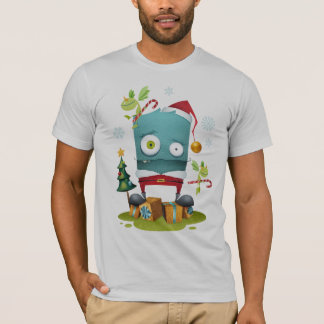 Camiseta É muito um Natal do monstro