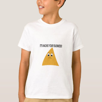 Camiseta É Nacho seu negócio