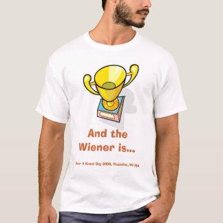 Camiseta E o Wiener é…