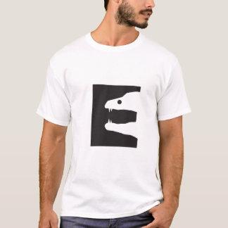 Camiseta E para a enguia