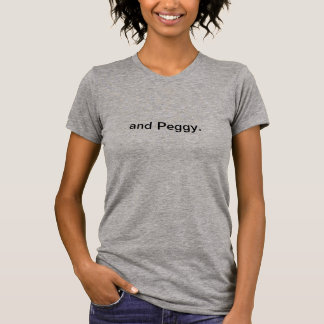 Camiseta e Peggy. Citações de Hamilton