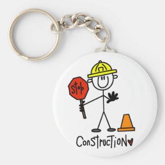 Camiseta e presentes básicos da construção chaveiros