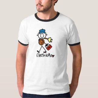 Camiseta e presentes básicos do eletricista