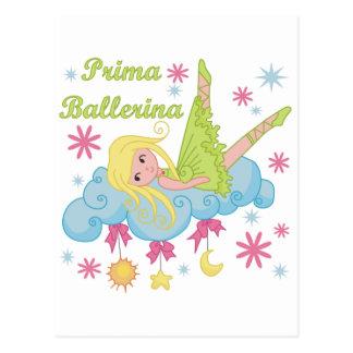Camiseta e presentes da bailarina de Prima Cartão Postal