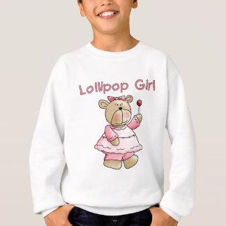 Camiseta e presentes da menina do pirulito
