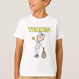 Camiseta e presentes da menina do TÊNIS