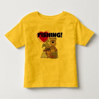 Camiseta e presentes da pesca do CORAÇÃO