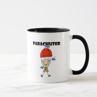 Camiseta e presentes de Parachuter Caneca