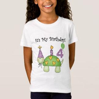 Camiseta e presentes do aniversário da tartaruga