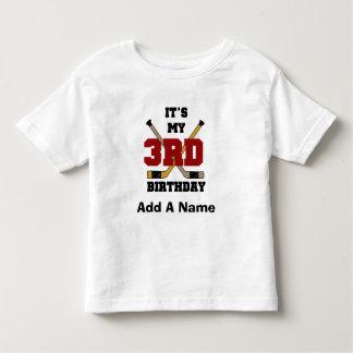 Camiseta e presentes do aniversário de 3 anos do