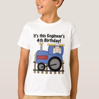 Camiseta e presentes do aniversário do engenheiro
