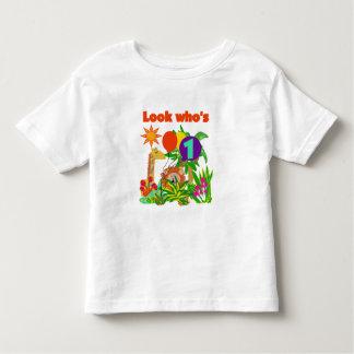 Camiseta e presentes do aniversário do safari