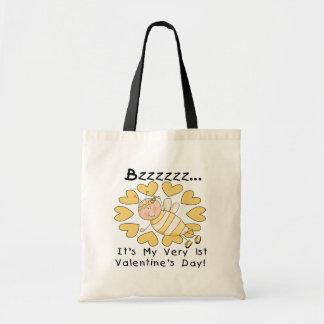 Camiseta e presentes do dia dos namorados da abelh bolsa para compras