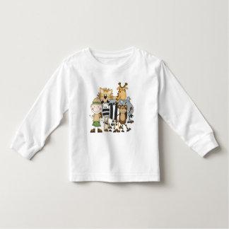 Camiseta e presentes do menino do safari