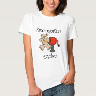 Camiseta e presentes do professor de jardim de