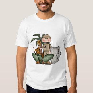 Camiseta e presentes do safari de selva dos