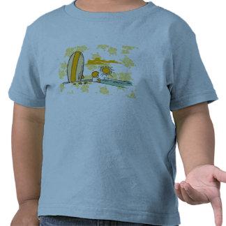 Camiseta e presentes do surfista