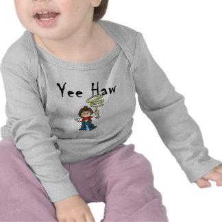 Camiseta e presentes do vaqueiro do Haw de Yee
