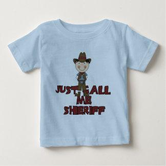 Camiseta e presentes do xerife