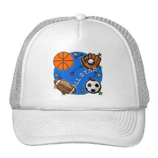 Camiseta e presentes dos esportes de All Star Bone