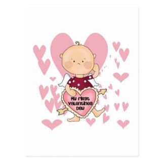 Camiseta e presentes dos namorados do Cupido da Cartão Postal