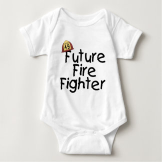 Camiseta e presentes futuros do bombeiro