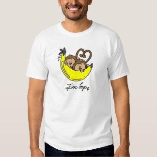 Camiseta e presentes gêmeos dos meninos dos