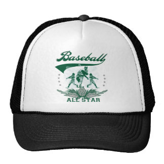 Camiseta e presentes verdes de All Star do basebol Boné