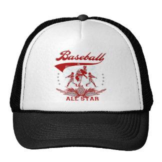 Camiseta e presentes vermelhos de All Star do base Boné