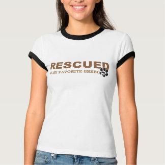 Camiseta É salvada minha raça favorita