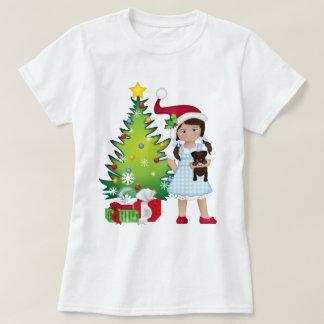 Camiseta E seu cão pequeno demasiado!  Dorothy