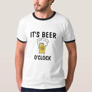 Camiseta É T-SHIRT do CINZA de S dos HOMENS da HORA da