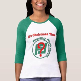 Camiseta É tempo do Natal? Capas verdes
