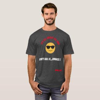 Camiseta É toda sobre a impressão