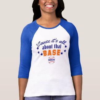 Camiseta É toda sobre essa bola EAGLES da base